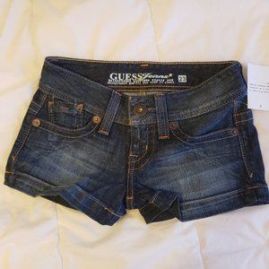 Guess shorts low rise size 23